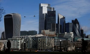 The City of London financial district.