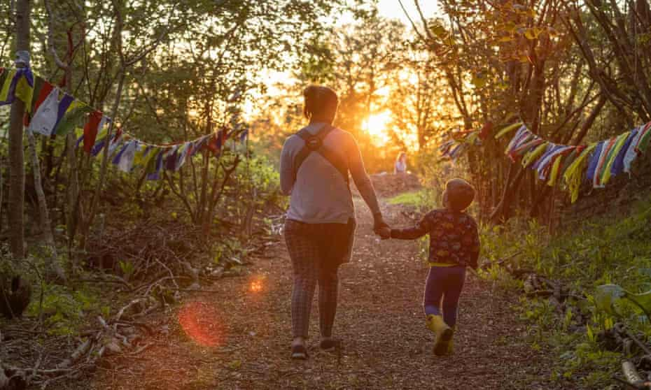 Wild Weekends are small-scale, family-friendly rewilding camps running every weekend until late September.