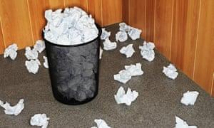 bad writers bin