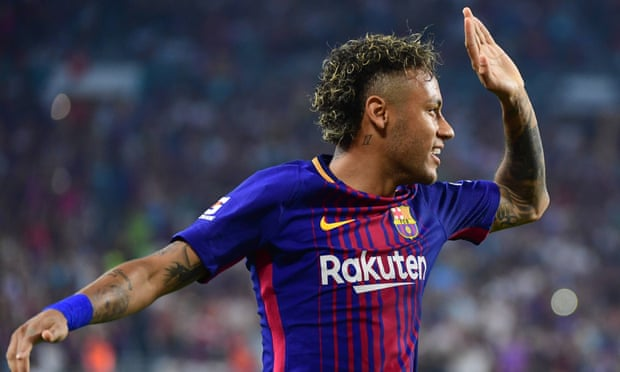 Barcelona's Neymar during the International Champions Cup match against Real Madrid