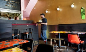 Black Axe Mangal, 156 Canonbury Road, London N1, for Jay Rayner's restaurant review, OM, 04/06/2019. Sophia Evans for The Observer