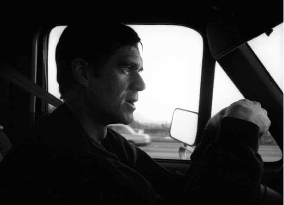 Gus Van Sant in California.