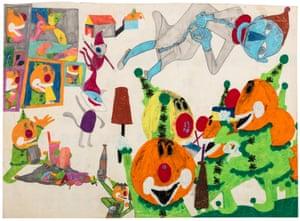 Here comes Fantaman … Susan Te Kahurangi King, Untitled, 1966