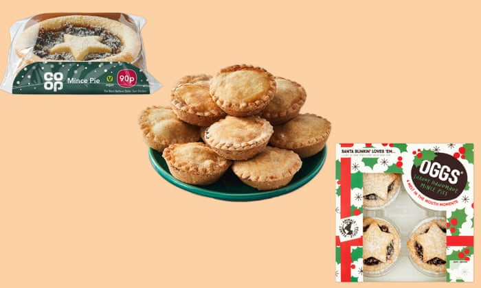 Christmas Taste Test Cakes Mince Pies And Panettone Food