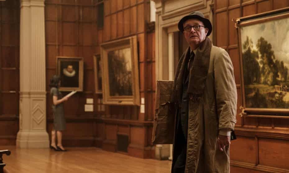 'Some half-baked portrait by a Spanish drunk' … Jim Broadbent in The Duke, shown at Venice film festival.