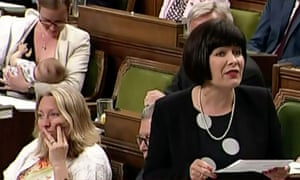 21dd017f89651 Footage of Canadian minister breastfeeding son in parliament goes viral. '