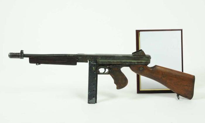 Biggest hoard of illegal firearms found in secret room in