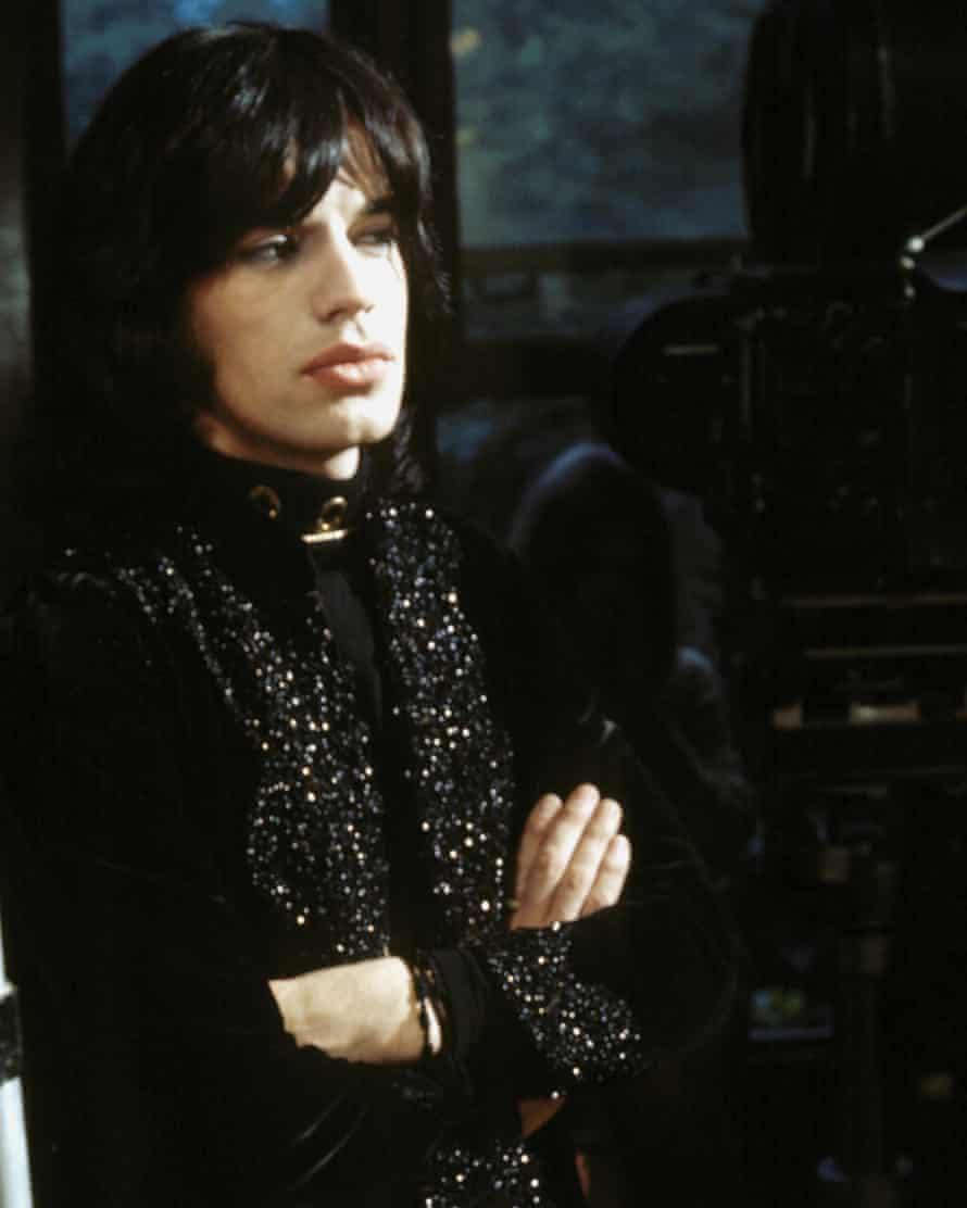 Mick Jagger as Turner in Performance