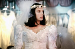 Toni Collette as Muriel in Muriel's Wedding (1994), directed by P J Hogan.