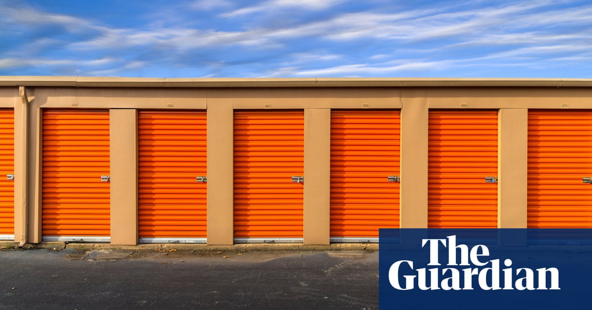 Our lock-and-leave culture: the rise of self-storage and clinging to stuff  we hardly use | Society | The Guardian