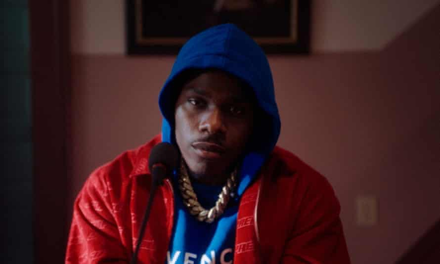 DaBaby performs for the MTV EMAs in October 2020.