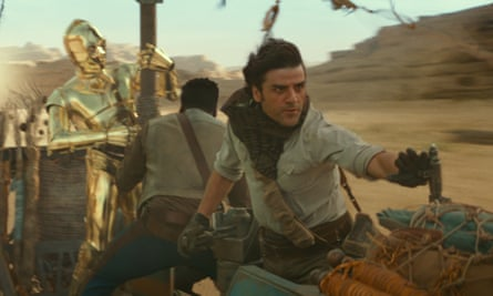 Oscar Isaac's Poe Dameron (right) returns to the Resistance in Episode IX