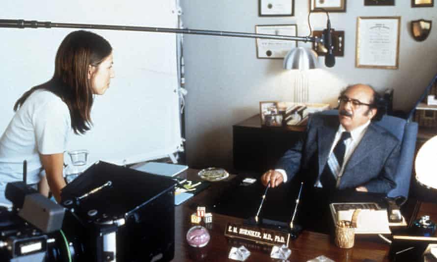 Easier than the dinner scene … Coppola directing Danny De Vito in The Virgin Suicides.