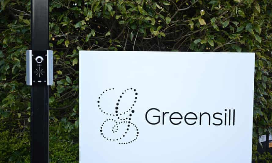 A Greensill Capital sign