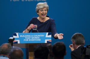 Philip Hammond passes Theresa May a cough sweet