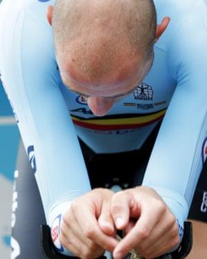 The Belgium rider Frederik Frison