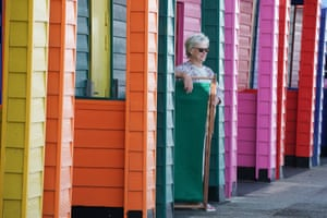 Saltburn-by-the-Sea, EnglandA woman enjoying the sunny weather on the pier in North Yorkshire, at the start of a week in which the UK is expected to bask in temperatures of more than 30C