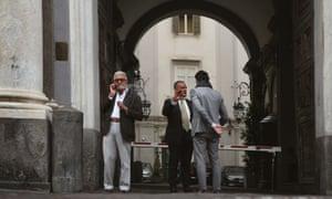 Local Neapolitan men.