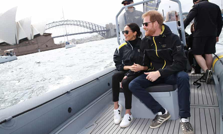 Prince Harry and Meghan in Sydney