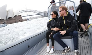Meghan Markle and Prince Harry in Sydney