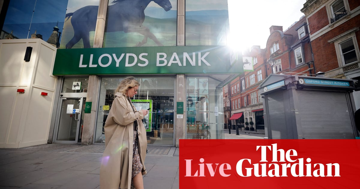 Lloyds beats forecasts with near-£2bn profit; markets eye Fed decision – business live