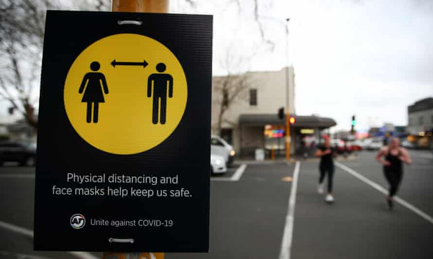 New Zealand's Covid-19 safety measure mandated masks on public transport in Auckland.