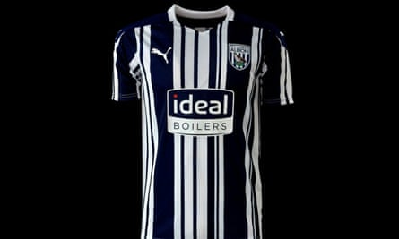 New West Brom home kit for 2020-21