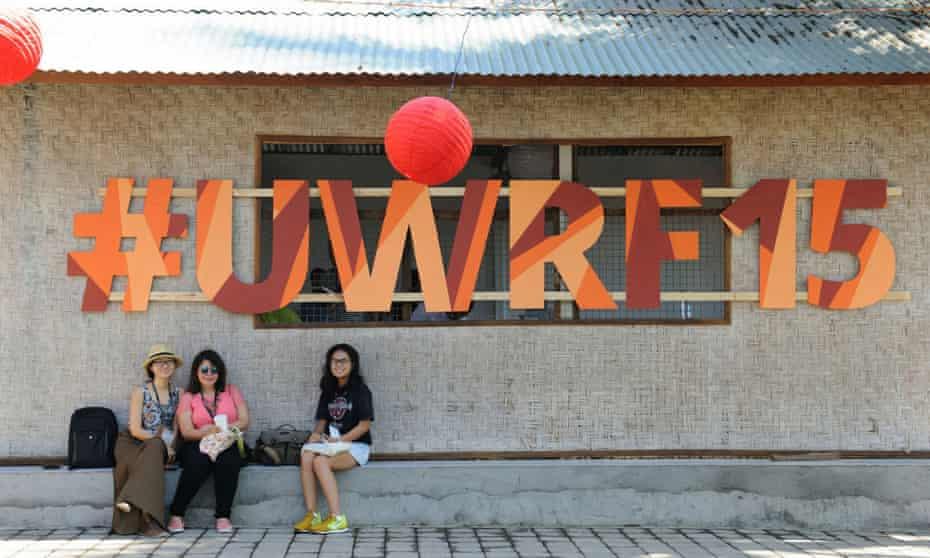 Ubud Writers Festival 2015, Ubud, Bali, Indonesia.