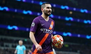Ilkay Gündogan says Manchester City 'would have taken Tottenham apart' had Sergio Agüero scored an early penalty.