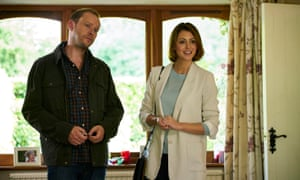 Robert Webb as Andrew and Julie Dray as Juliet in Back
