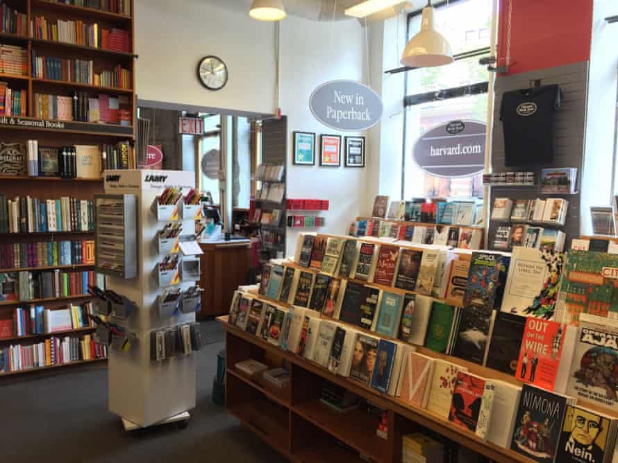 Interior of Harvard Book Store