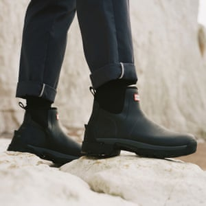 Town and countryHunter's new unisex Balmoral hybrid boots bridge the gap between rural paths and urban parks, available in three colours and two lengths – Chelsea and tall. From £135, hunterboots.com