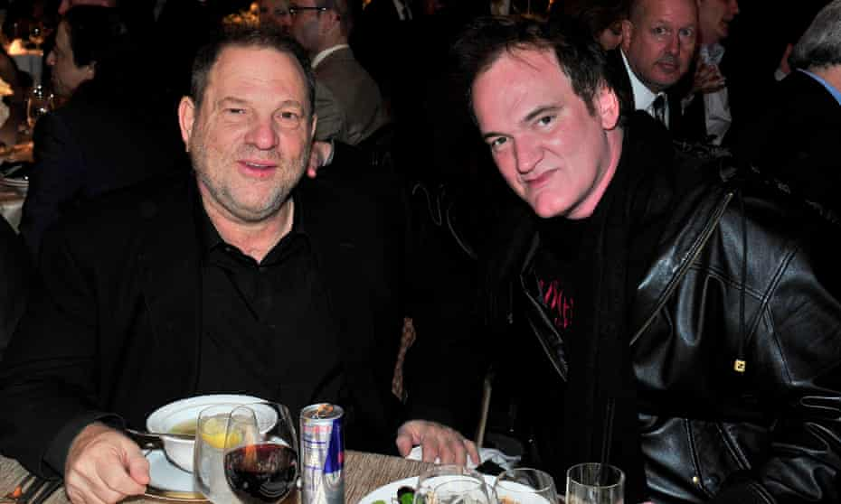 Harvey Weinstein reportedly threatened to replace Peter Jackson with Quentin Tarantino to direct Lord of the Rings.