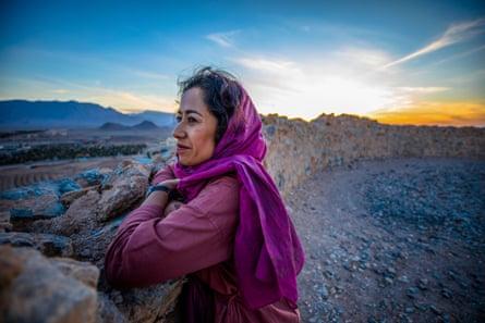 Samira Ahmed presents Art of Persia on BBC Four.