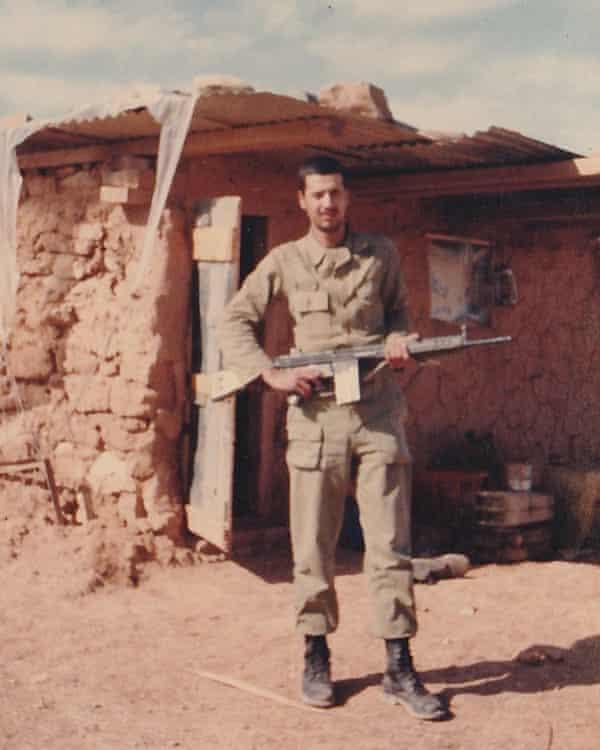 Morie Goli in the army in Iran