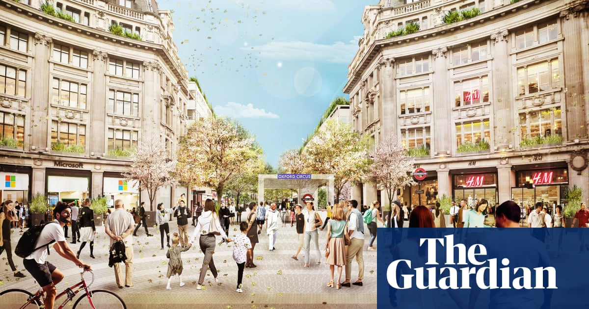 Oxford Circus to be turned into pedestrian piazzas this year