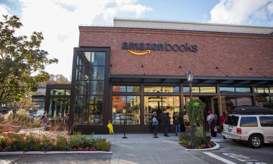 Amazon bookstore in Seattle