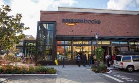 Amazon recently opened its first bookstore in Seattle.