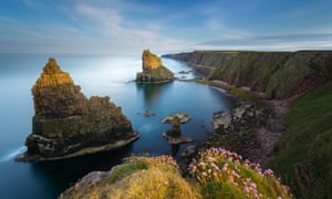 Ageless landscape, hardcore tastes … the Duncansby Stacks at John O'Groats, Scotland, where the residents have a penchant for 190bpm dance music.