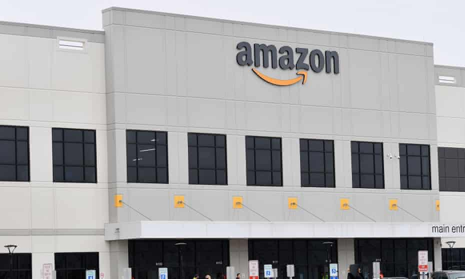 Amazon's Staten Island. Strikes demand the 855,000 sq ft facility close.