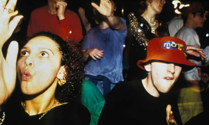 'Promoters were splashing out a fortune on the stations linked to the rave scene' ... revellers at the Amnesia rave in Coventry in 1991.