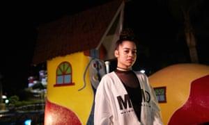 R&B singer Ella Mai.