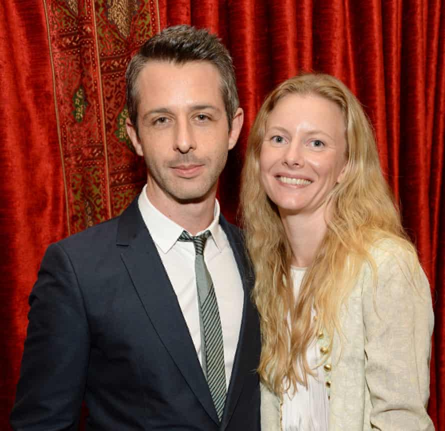 Strong with his wife, psychiatrist Emma Wall.