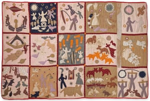 Harriet Powers (American, 1837–1910) Pictorial quilt, 1895–98 Athens, Georgia