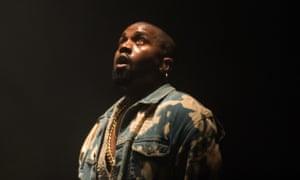 Kanye West, Glastonbury Festival, 2015.