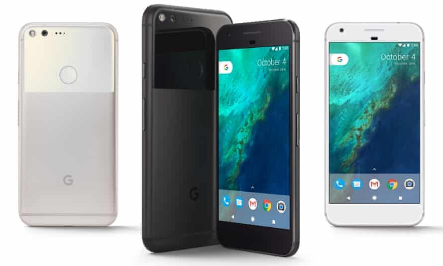 Google Pixel smartphone UK models