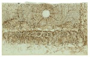 Fake or fortune? Field of Sunflowers, August–September 1889, Saint-Rémy.