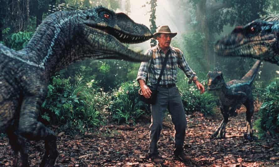 Neill in Jurassic Park III.