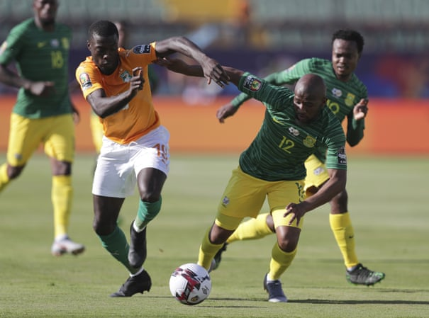 Image result for ivory coast vs south africa AFCON 2019
