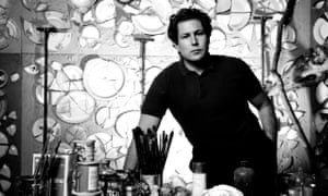Portrait of the artist as a young man … Julian Schnabel in 1984